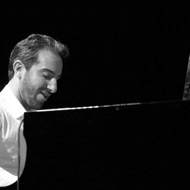 Aaron Goldberg, piano. Concert à Chorus le 13 décembre 2014