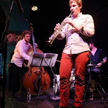 Rémi Fox, saxophone et Emmanuel Forster, contrebasse. Photo©Tristan Boy de la Tour