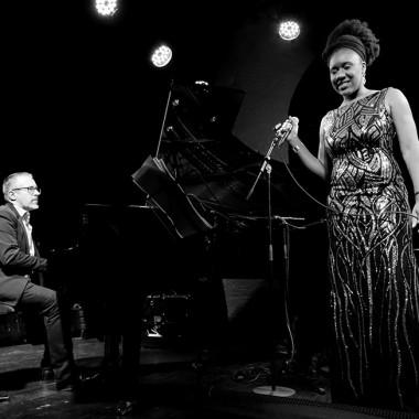 Tricia Evy et Manuel Rocheman. Photo © Tristan Boy de la Tour
