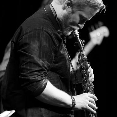 Valentin Conus, saxophone soprano. Photo © Tristan Boy de la Tour